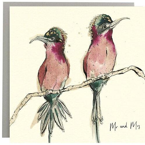 Anna Wright Card - Mr & Mrs