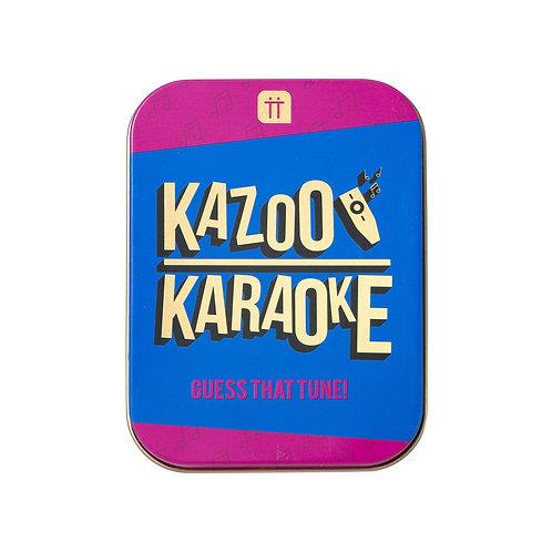 Fun In A Tin- Kazoo Karaoke
