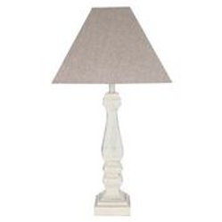 Table Lamp Sophia French Grey with Shade