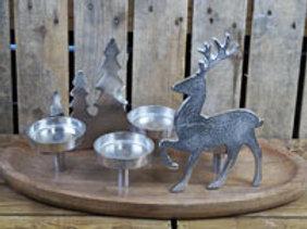 Tree and Reindeer Tealight Centrepiece