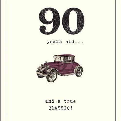 Card - 90th