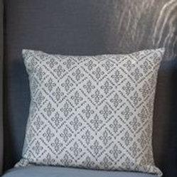Square Cushion Lindos Pewter