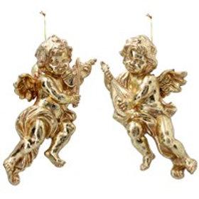 Gold Hanging Cherub (1 only)