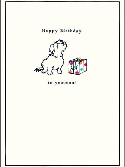 Card - Happy Birthday to Yooooou!