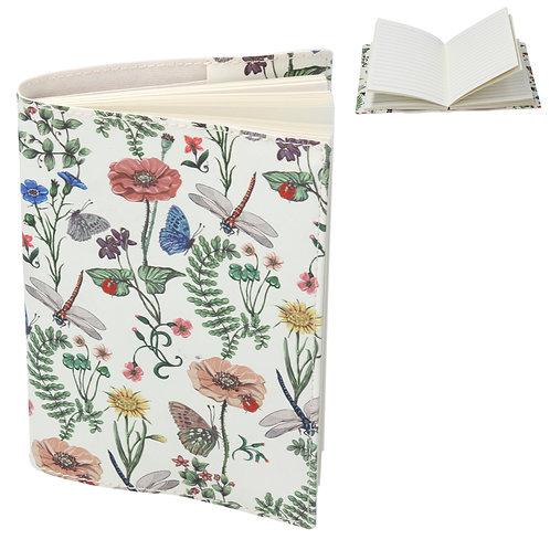 Flora Fauna PU A6 Notebook