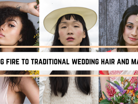 What EVEN is natural wedding hair and makeup?