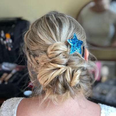 cool bridal hair