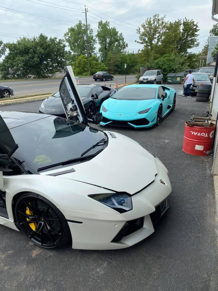 Jlub Aventador and Vic Lambo