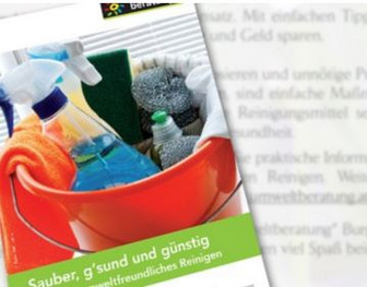 Tipps für umweltfreundliches Reinigen