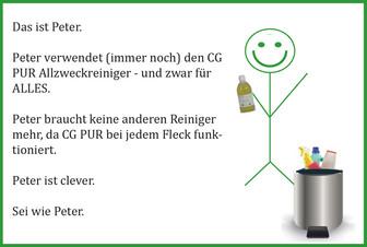Tipp der Woche - Ein Reiniger für jeden Fleck - Sei wie Peter :)