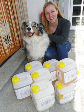 CG PUR in tierischem Einsatz bei Purzel & Vicky