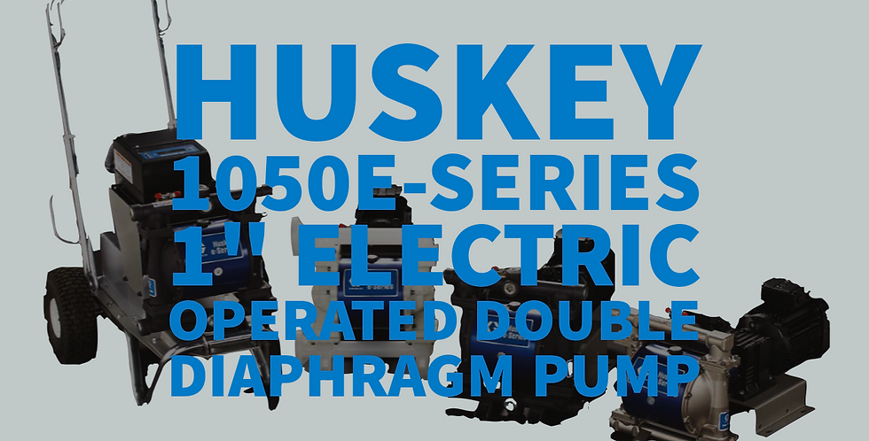 "Husky 1050e-Series 1"" Electric Double Diaphragm Pump"