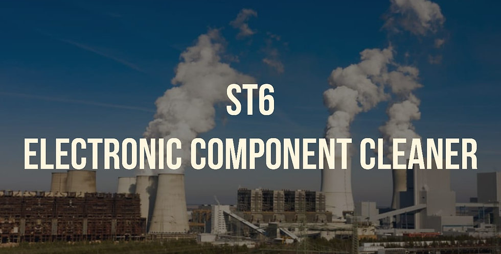 ST6  Electronic Component Cleaner 25L