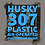 Thumbnail: Husky 307 9.4mm Plastic Pumps Air-Operated Double Diaphragm