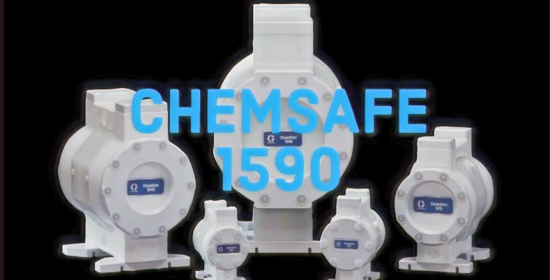 ChemSafe 1590 Air-Operated Double Diaphragm Pump