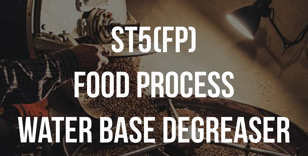 ST5 (FP) Food process water base degreaser 25L