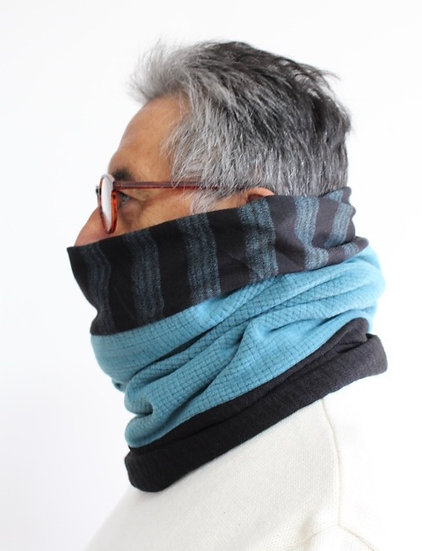 CARLOS Scarf in Blues