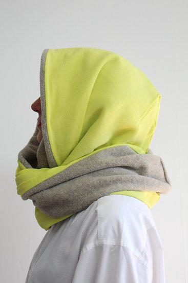 DOTTIE Hood in Neon Yellow