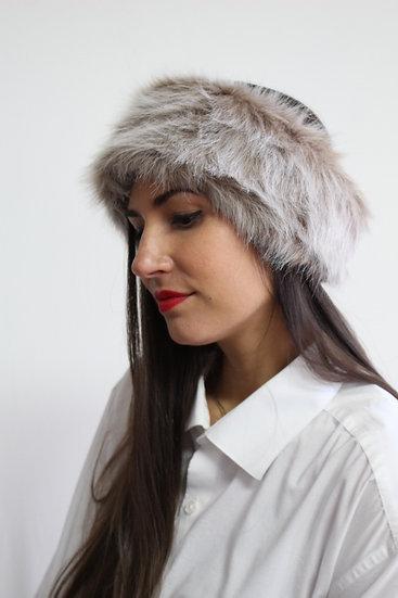 VELDA Headband in Light Brown