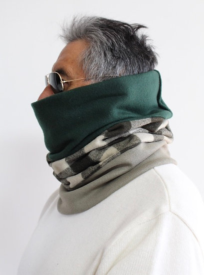 CARLOS Scarf in Greens