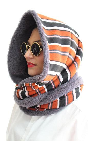 DOTTIE Hooded Scarves