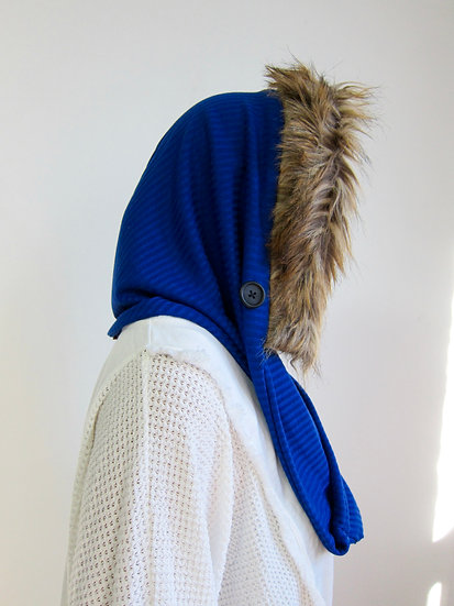 BELLA (Long Hood) Royal Blue