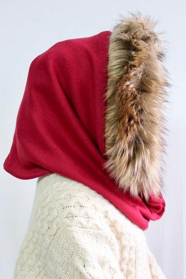 BELLA Hood in Red