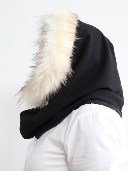BELLA Hood in Black