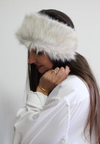 VELDA Headband in Light Gray