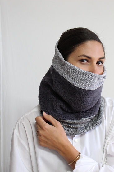 CARLOS Scarf in Grays