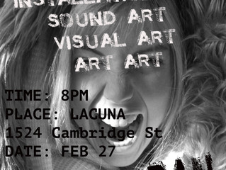 Upcoming Runway show and Art Explosion!  WILD/URBAN hits Philly in February