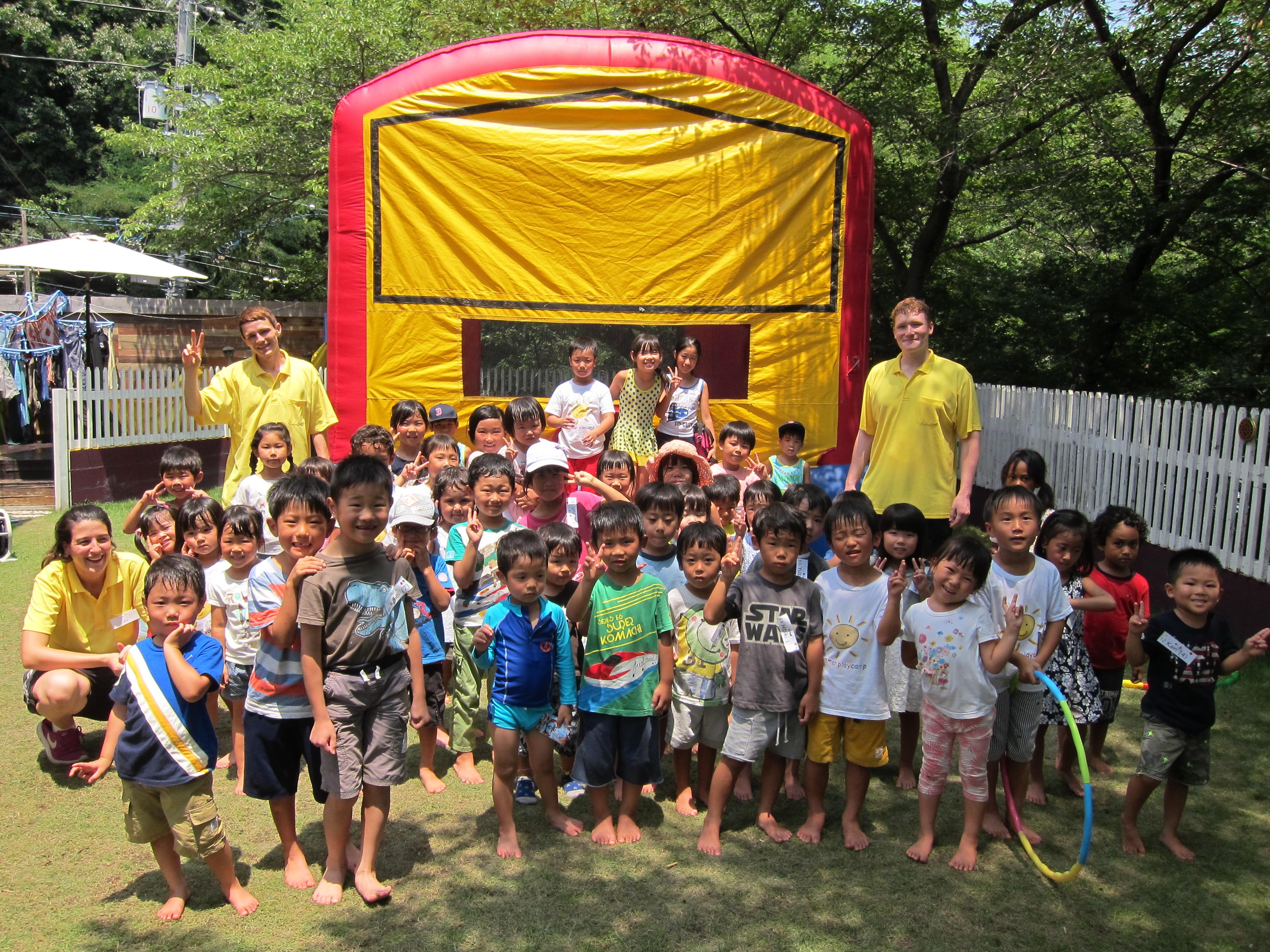 group shot summer camp
