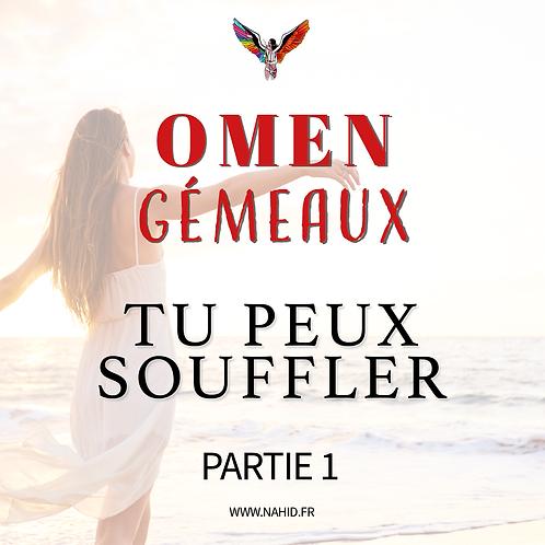 """GÉMEAUX """"Tu peux souffler"""" (PARTIE 1)   Les Archives #OMEN"""