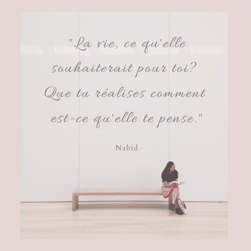 Citation de Nahid