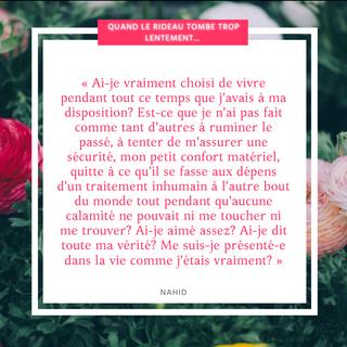 #83 citation QUAND LE RIDEAU TOMBE TROP