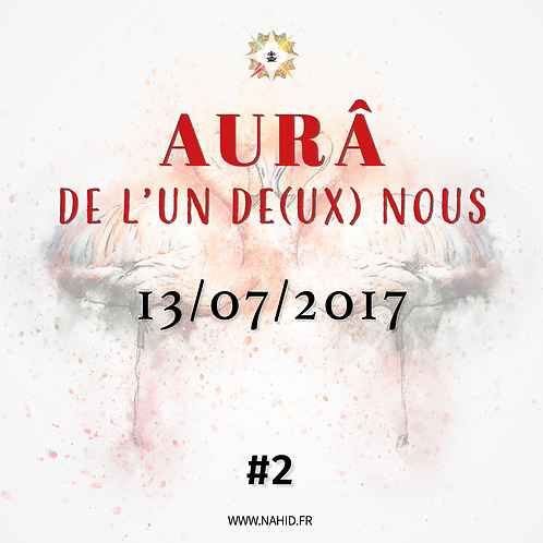#2 L'AUR® de l'Un De(ux) Nous du 13/07/2017   Les Archives de l'AUR®