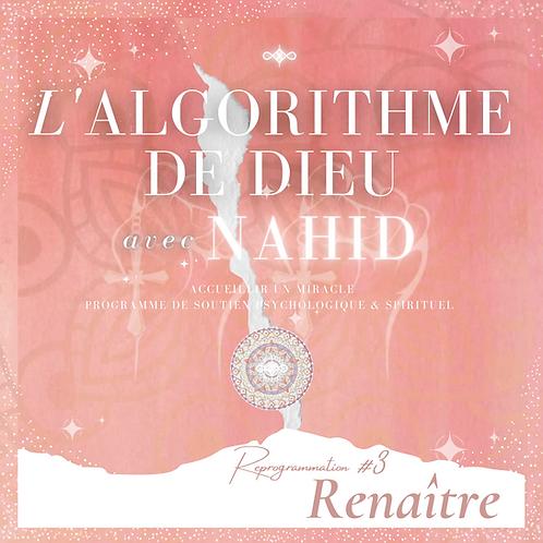 """Algorithme de Dieu #3   """"Renaître"""""""