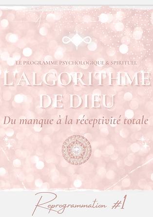 Affiche Algorithme de Dieu #1 nahidfr.pn