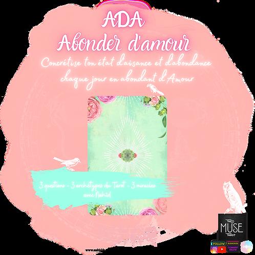 "ADA ""Abonder d'Amour"""