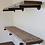 Thumbnail: Industrial Wood Shelves