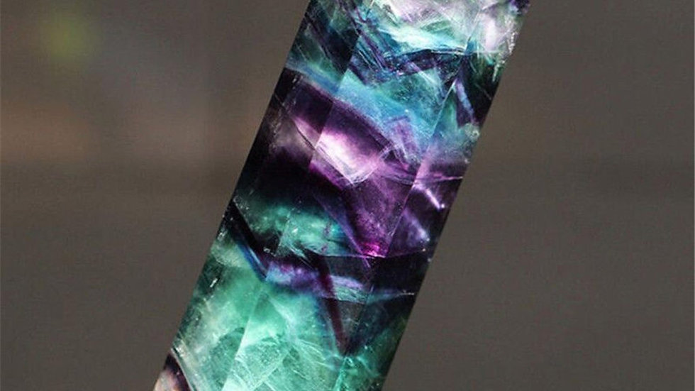 Beautiful Natural Rock Quartz Crystal Wand Point Healing Mineral Stone