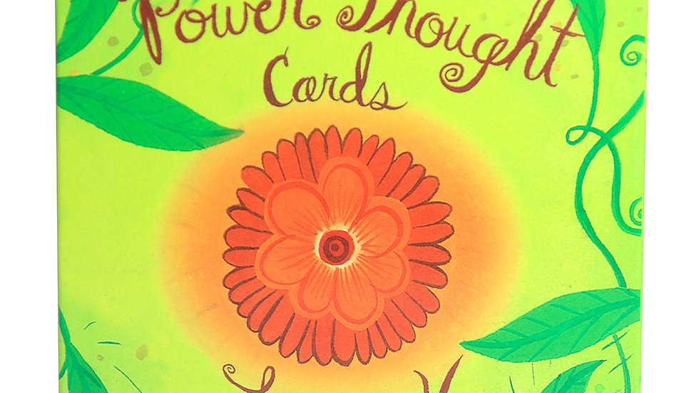 Power Thought Cards 64  Deck Box Set Tarot Divination Occult Oracle With Book