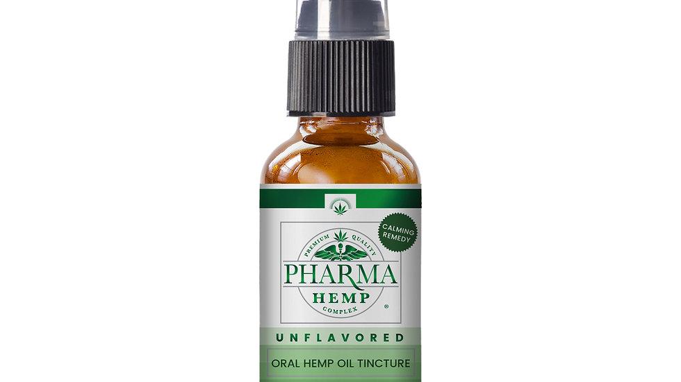 Oral CBD Hemp Oil Spray- Unflavored 1 oz