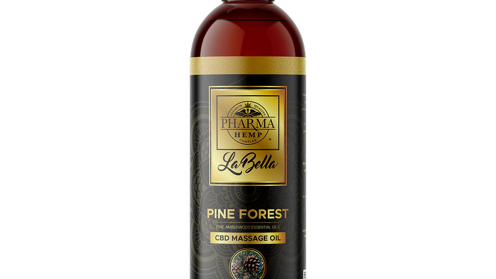 CBD Massage Oil- Pine Forest