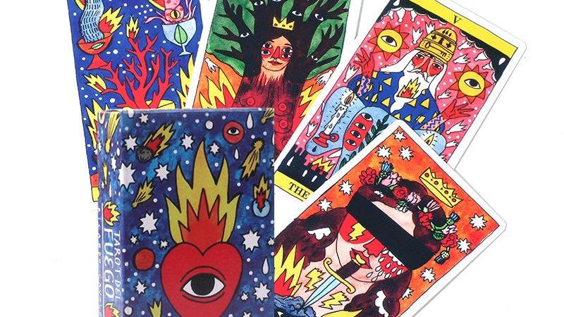 Tarot Del Fuego Cards Tarot Decks