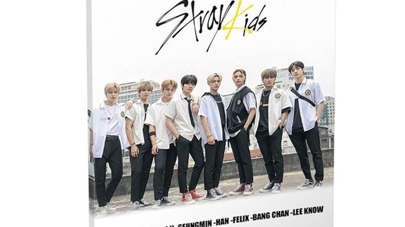 KPOP Stray Kids New Album GO LIVE Mini Photobook Photo Album Book Photo Card