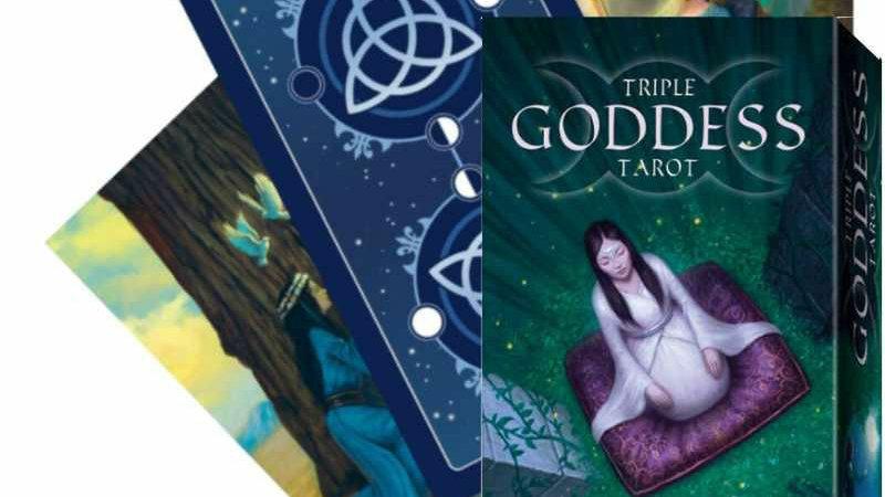 Magical Tarot Deck English Edition Triple Goddess