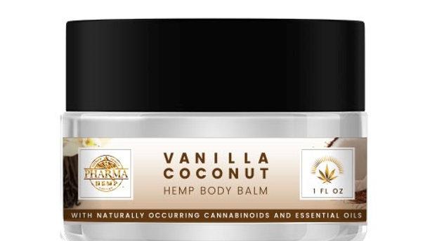 Vanilla Coconut Hemp Body Balm