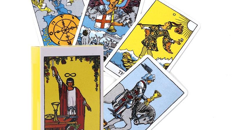 Tarot Cards for Divination Tarot Deck Full English Version