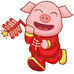 Happy Lunar New Year! Glory to the Pig!
